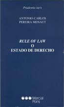 Rule of law o Estado de Derecho